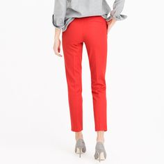 Martie pant in bi-stretch cotton : slim | J.Crew