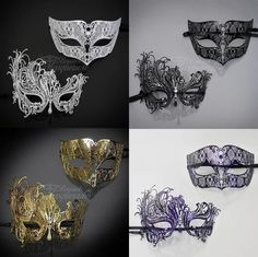 Your Masquerade Mask Event Begins Here. Perfect for Masquerade Events, Festivals, Carnivals, Themed Parties, Ballroom Dances, Prom, Mardi Gras, Weddings, Costume Parties, & given as Gifts! When not wearing, the masks make an excellent display piece at home, too!   eBay!