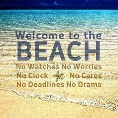 Beach- leave your care out of mind beach beach quotes, beach ve ocean beach. Playa Beach, Beach Bum, Ocean Beach, Summer Beach, Summer Fun, Summer 2014, Summer Loving, Long Beach, Travel Photography Tumblr