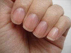 This is about as long as I would ever want my nails. Clean, trimmed, healthy nails are key.