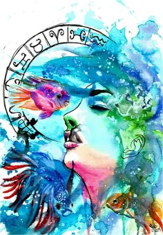 Pin By My Hobbies On Pinterest On Zodiac Sign Art Fantasy Pisces