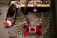 dolcegabbana F/W16/17 #DGFabulousFantasy Women's Fashion Show. Fashion Accessories. More insights on @dolcegabbana and #dgfw17. Also follow @voguerunway and #MFW.