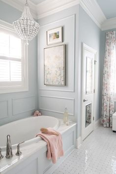 Master bathroom small deep soaking tub in corner. - Milan Kil - Master bathroom small deep soaking tub in corner. Master bathroom small deep soaking tub in corner. Bad Inspiration, Bathroom Inspiration, Bathroom Renos, Bathroom Interior, Bathroom Cabinets, Restroom Cabinets, Bathroom Showrooms, Dream Bathrooms, Beautiful Bathrooms