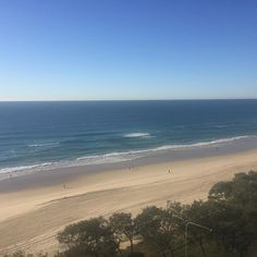 The ocean is beautiful   View from a hotel in Surfers Paradise Gold Coast. 12/05/2016 . #iphonephotography #beach #surfersparadise #goldcoast #waves #picturesque #qld #queensland #thisisqueensland #australia #photography #photosofaustralia #scenery #calming #blueskies #bluesea #sea #ocean #surfersparadisebeach #paradise by aussiphonescenes http://ift.tt/1PI0tin