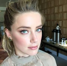 """This is a relatively new possibility to change gender. So it opens up a whole new conversation that's fascinating to me about what it is to be male or female or to live in a world with a two party system. ""Where you have up until recently one of two options, and it wasn't an option. Now it opens up a conversation.""?#AmberHeard?#TransAmber #TeamBruce#TransJenner? #?BruceJenner? #TeamAmber"