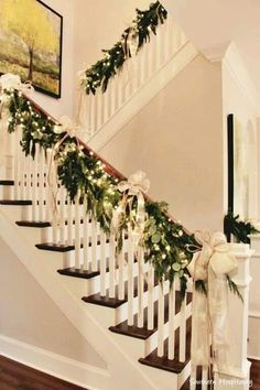 christmas gift httpswwwamazoncompainting educational - Stairway Christmas Decorating Ideas Pinterest