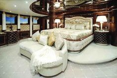 "Luxury Life Design: Luxury Yacht ""Diamonds Are Forever"" - Homes - yacht Luxury Yacht Interior, Boat Interior, Luxury Cars, Luxury Life, Luxury Living, Luxury Homes, Life Design, House Design, Benetti Yachts"