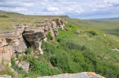 Head-Smashed-In Buffalo Jump Museum ~ Alberta, Canada ~ A Unesco World Heritage Site