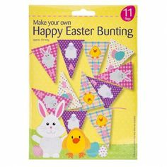 Easter Bunting Kit....check! #poundlandeaster