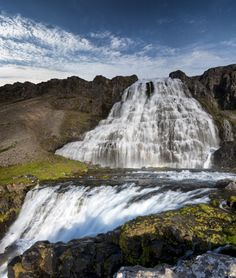 icelandicphoto:  I think waterfalls might outnumber people in...