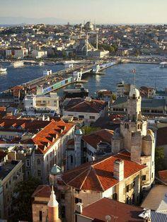 Golden Horn, Istanbul, Turkey  #bosphorus #harbour