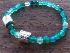Aruba Men's Bracelet by nunKI. Agate gemstone