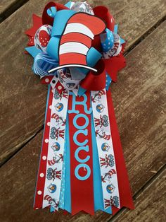 Dr seuss baby shower-cat in hat mum-cact in hat baby by bonbow