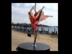 Pole dancer - Anastasia Sokolova - Ibiza 2014