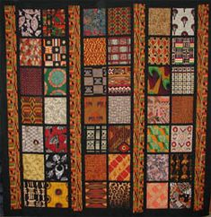 African Quilt Blocks | So sorry but I no longer have name of the quilter who submitted this.