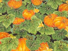 Halloween VIP Pumpkin Patch Sewing Fabric Fall Seasonal Cranston printworks BTY #VIPCranstonPrintWorks