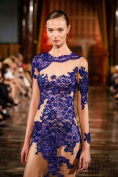 Toufic Hatab Fall-winter 2014-2015 - Couture - http://www.flip-zone.com/toufic-hatab-4842