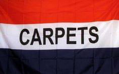 Carpets 3'x 5' Advertising Business Flag