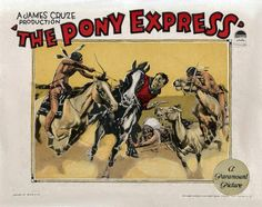 Ricardo Cortez and Duke Kahanamoku in The Pony Express Pony Express, Two Movies, Western Movies, Paramount Pictures, Silent Film, Vintage Movies, Print Ads, Westerns, Happy Trails
