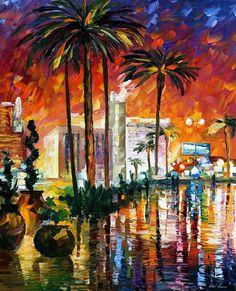 Las Vegas by Leonid Afremov