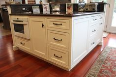 Custom cabinets by Creation Cabinetry in Schuylkill County, Pennsylvania.
