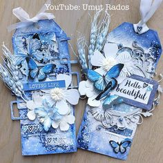 New mixed media tags with amazing @kaisercraft Indigo Skies collection and @dusty_attic chipboards! YouTube video is up, link at bio. Happy Sunday!  #dustyattic #kaisercraft #artjournalsf #mixedmedia #mixedmediaart #mixedmediatag #mixedmediaartist #artwork #crafting #crafter #craft #papercraft #papercrafting #mixedmediatag #art_we_inspire #howto #tutorial #art #artjournal #artjournalpage #artist #artistsoninstagram #instaartist #artecomoterapia #prazeremcolorir