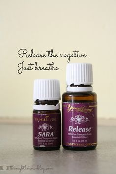 Release the Negative. Just Breathe. Diffuser Blends, Oil Diffuser, Young Living Release, Diffuser Recipes, Helping Other People, Oil Uses, Just Breathe, Carrier Oils, Young Living Essential Oils