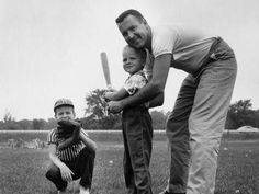 An poster sized print, approx (other products available) - Father and two sons playing baseball - Image supplied by Fine Art Storehouse - Poster printed in Australia Father Son Photos, Father And Son, Sports Baseball, Baseball Players, Sports Baby, Baseball Season, Father Son Photography, Family Photography, Photography Poses