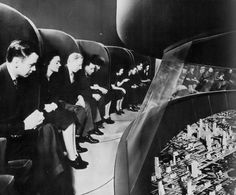 'Futurama' exhibition for General Motors at the 1939 World's Fair, New York