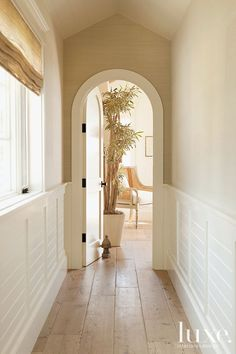 Startling Cool Tips: Wainscoting Nursery Offices wainscoting hallway kitchens.Wainscoting Door Craftsman Style white wainscoting board and batten. Beadboard Wainscoting, Wainscoting Nursery, Wainscoting Styles, Dining Room Wainscoting, Coastal Style, Coastal Living, Halls, Sweet Home, Garden In The Woods