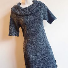 Sweater Dress Black/White Sweater Top/Dress // I'm 5'7 so it's a little short to be a dress on me. But would also look great with leather-like tights...NWOT  Any Questions Please Ask before Purchase No Paypal || No Trades || Posh Rules Only 🎉🎉Host Pick 10-12-14🎉 🎉 Shipping:  Bundle and Save on Shipping Items are shipped within 24-48 hours of payment (Mon-Fri.)  Please Check Out my other listings for the best in brand new and gently used clothing, shoes and accessories. Happy Poshing…
