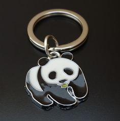 Panda Keychain Custom Keychain Custom Key Ring Panda