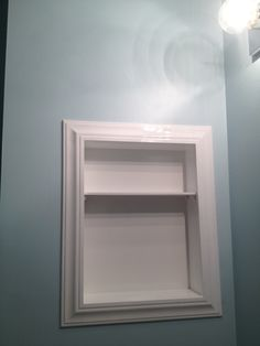 How to replace medicine cabinet with open shelves   Home ...