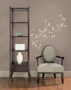 Silver Dollar Branch Peel & Stick Giant Wall Decal Wall Decal at AllPosters.com