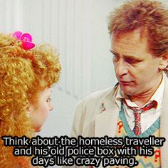 Doctor Who classic who seventh doctor goodbye