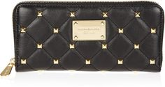 MK studded wallet. LOVE! Time to replace last years MK wallet!