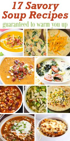 Summer is finally coming to an end and I can't wait to start adding more soup recipes to my family's weekly meal plan. Today I've gath...