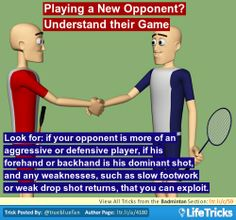 Badminton - Playing a New Opponent? Understand their Game