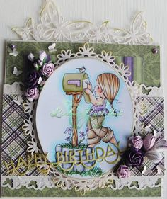 Pysselbus: DT Elisabeth Bells World: Use die cuts and/or punches!
