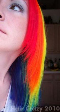 How to Dye Rainbow