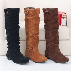 Wholesale Women Girls Fashion Style Lace Up Winter Boots Flat ...