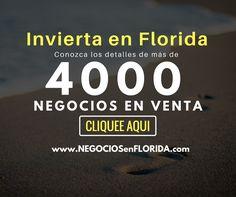 Revise 4000+ Negocios en venta en Florida. Llamenos al 305-351-7766 #negocios #negociosenflorida #miami #negociosenmiami #inviertaenmiami