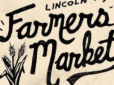 Dribbble - Farmers Market - Lincoln by Joe Horacek