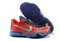 2015 Nikes Zoom Kobe X EM XDR men basketball shoes red navy white