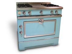 Cucina a libera installazione in acciaio inox GRAND MAMAN 90 ...