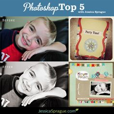 Free Online Photoshop Class... The Photoshop Top 5: Five Techniques Everyone Should Know