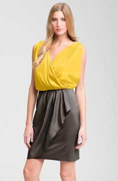 I can't wear this color, but if you can, go for it!  The draping is pretty - and hides all manner of sins ; ) Again, Nordy's.