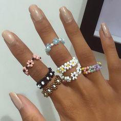 Cute Jewelry, Diy Jewelry, Jewelery, Jewelry Accessories, Jewelry Making, Beaded Jewelry Designs, Funky Jewelry, Handmade Wire Jewelry, Handmade Rings