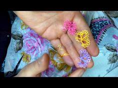 "1.mekik oyası""3kulak çiçek yapımı youtup - YouTube Tatting Patterns, Sewing Patterns, Needle Lace, Needlework, Elsa, Embroidery, Jewelry, Youtube, Lace"