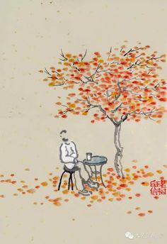 老树的诗与画
